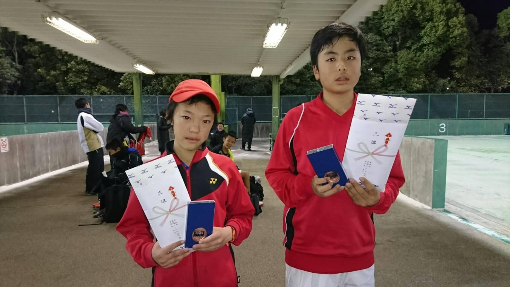 豊橋ジュニア選手権大会(シングルス)