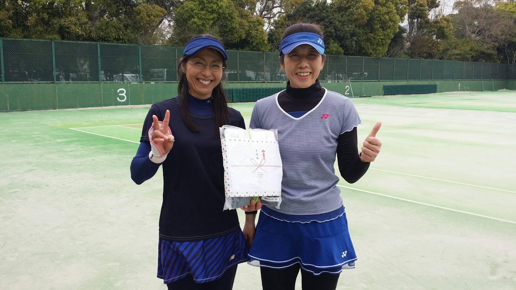 協会長杯豊橋ダブルストーナメント(男女ダブルス)